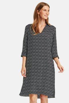 gerry weber blousejurkje »blusenkleid mit grafischem muster« zwart
