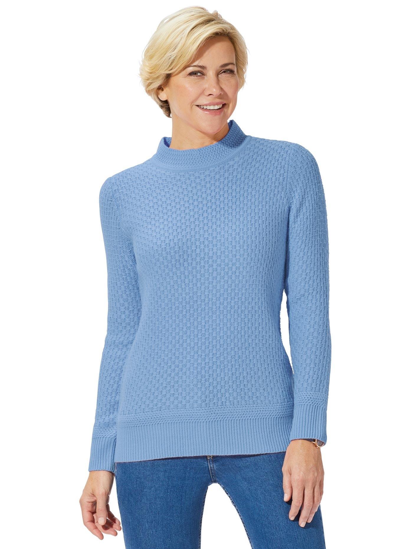 Classic Basics trui met staande kraag Trui voordelig en veilig online kopen