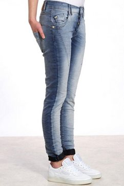 gang slim fit jeans »new georgina« blauw