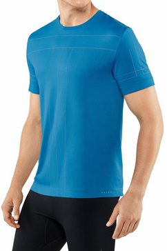 falke t-shirt »t-shirt« blauw