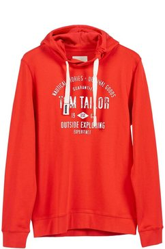 tom tailor hoodie oranje
