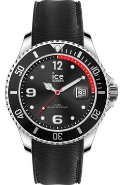 ice-watch kwartshorloge »ice steel, 015773« zwart