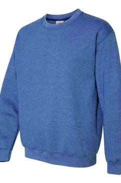 gildan trui met ronde hals »heavy blend unisex sweatshirt mit rundhalsausschnitt« blauw