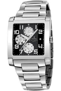festina multifunctioneel horloge »multifunktion, f16234-6« zilver
