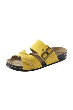 slippers crossover geel
