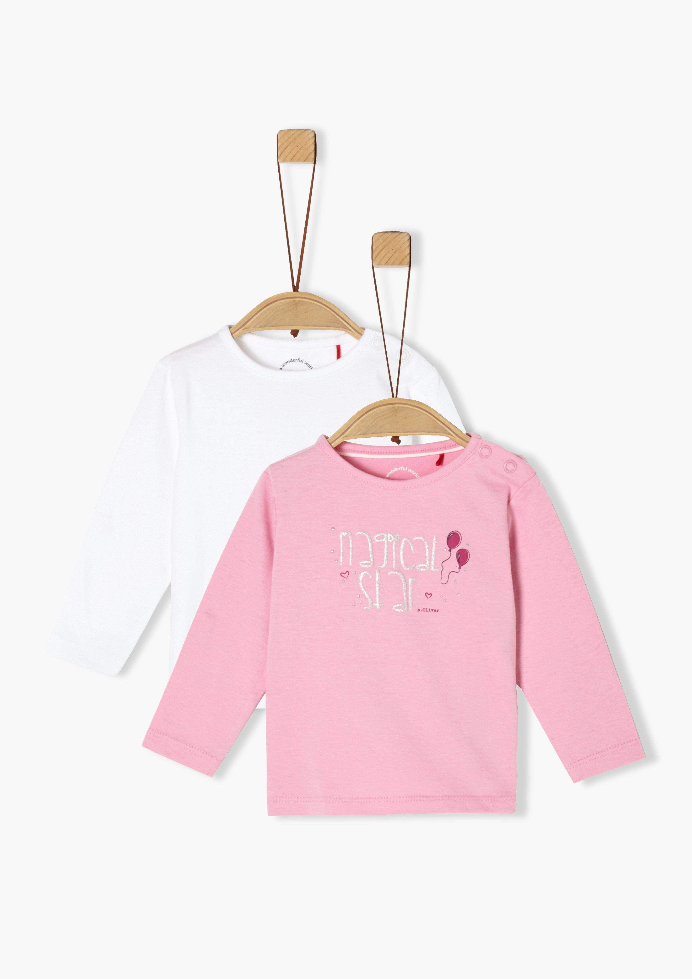 s.Oliver Set van 2-shirts met lange mouwen_voor baby's - gratis ruilen op otto.nl