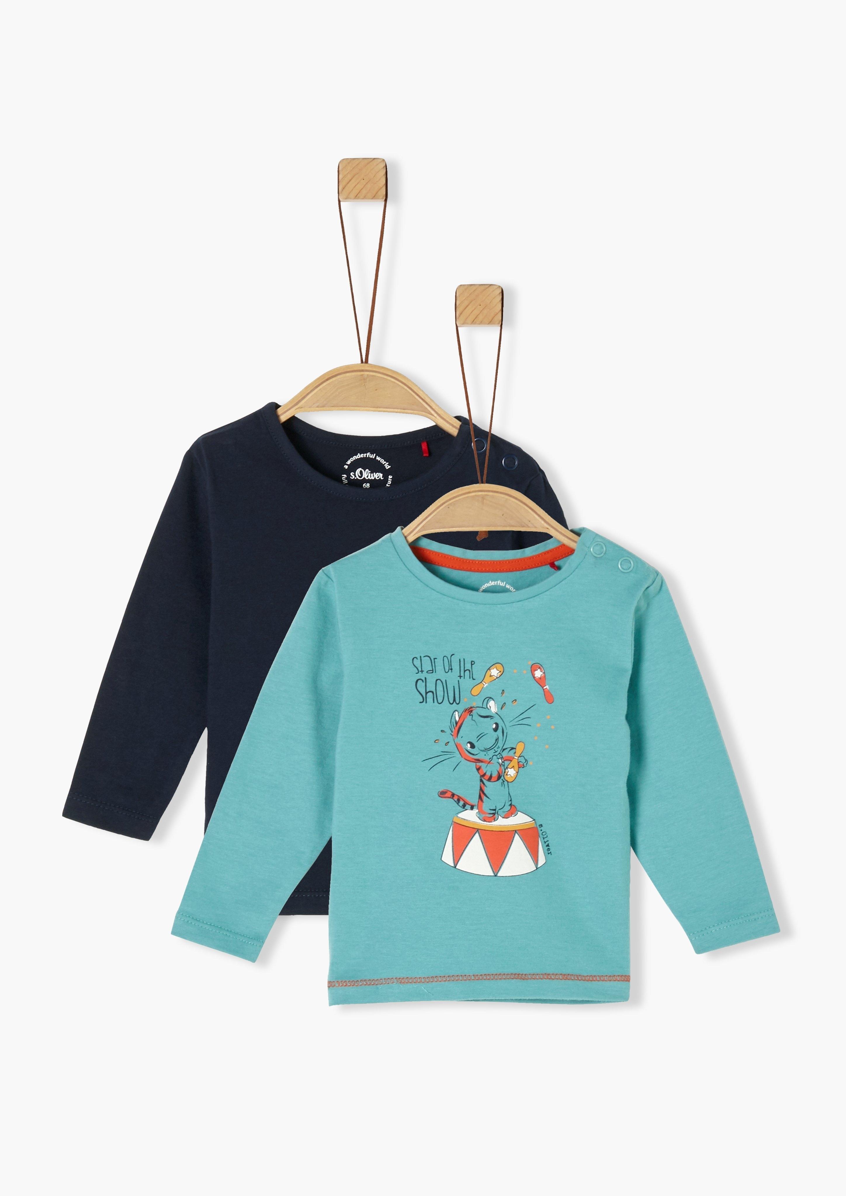 s.Oliver Set van 2-shirts met lange mouwen_voor baby's veilig op otto.nl kopen