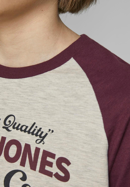 Jack & Jones Junior shirt met lange mouwen »JJERAGLAN LOGO TEE L/S J« nu online bestellen