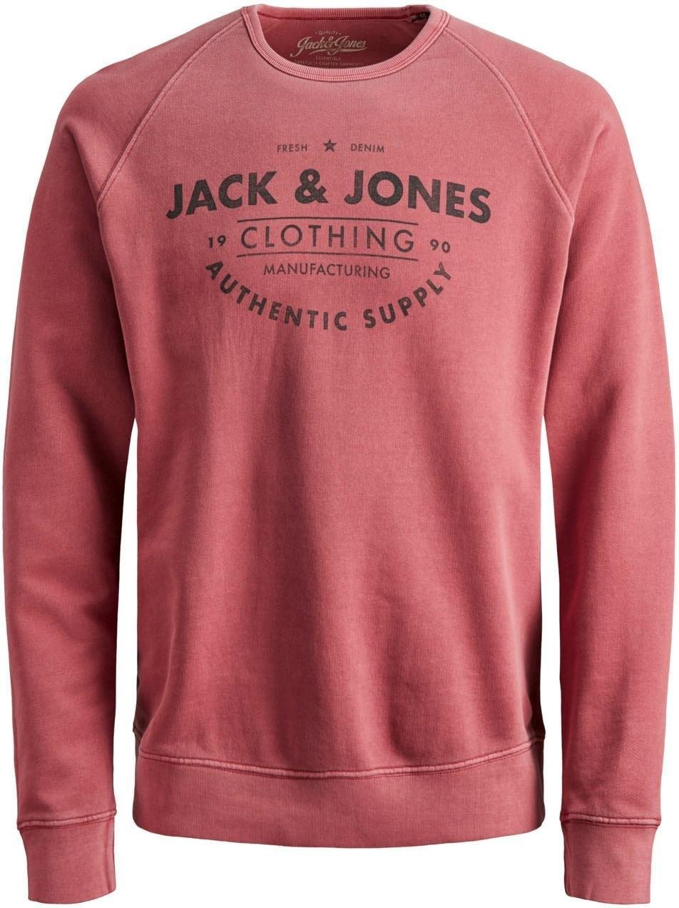Op zoek naar een Jack & Jones Junior sweatshirt »JJEJEANS WASHED SWEAT CR«? Koop online bij OTTO