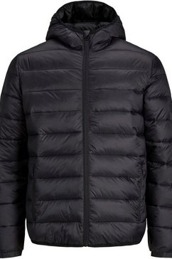 jack  jones junior gewatteerde jas »jjemagic puffer hood jr« zwart