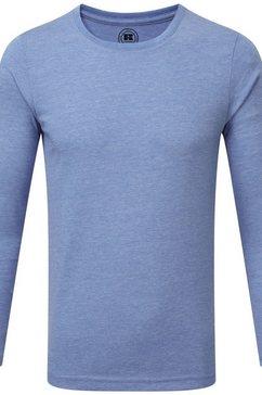 russell t-shirt »jungen langarm hd« blauw