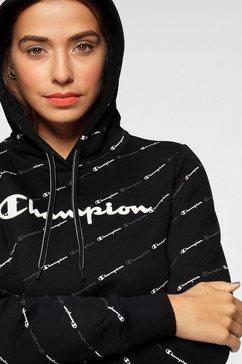 champion hoodie »hooded sweatshirt« zwart