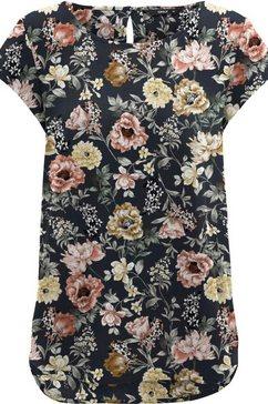 only gedessineerde blouse »onlnova life« blauw