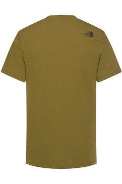 the north face t-shirt groen