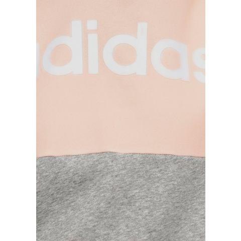 adidas Performance hoodie WOMEN ESSENTIAL CLUB FLEECE HOODIE