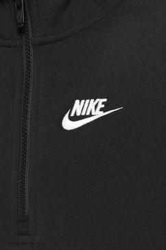 nike hoodie »boys club hood halfzip« zwart