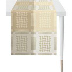 apelt »alexis, loft style, jacquard« tafelloper beige