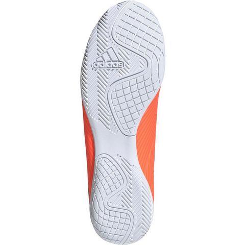 Adidas Zaalvoetbalschoenen NEMEZIZ 4 oranje-zwart
