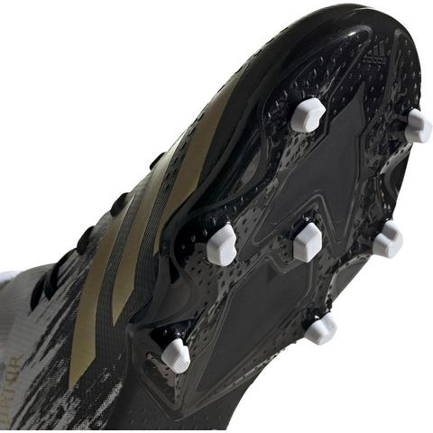 adidas Predator 20.3 fg voetbalschoenen wit-goud kinderen Kinderen
