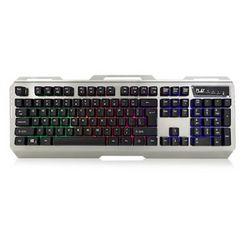 eminent ewent play gaming keyboard illuminated zwart