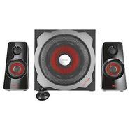 trust gxt 38 2.1 ultimate bass speaker set zwart