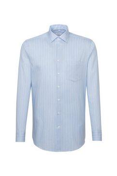 seidensticker businessoverhemd »regular« blauw