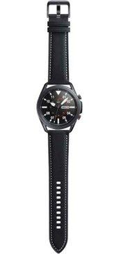 samsung »galaxy watch 3, edelstahl, 45 mm, lte (sm-r845)« smartwatch zwart