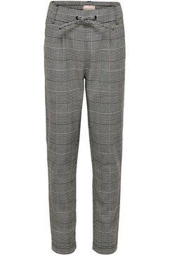 kids only geweven broek »konpoptrash soft check pant« grijs