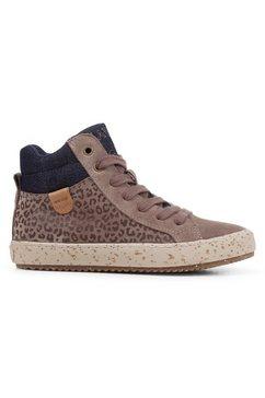 geox kids sneakers »wwf-kollektion kalispera girl« grijs