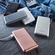 intenso »s10000« powerbank roze