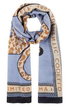 codello modieuze sjaal blauw