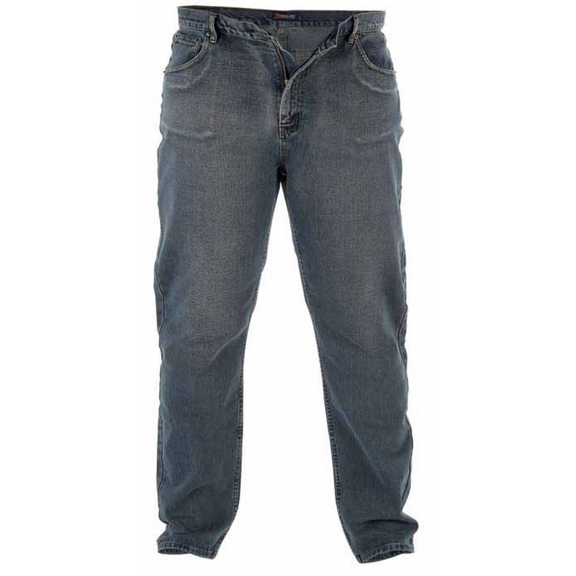 Duke Clothing comfort fit jeans »Heren Rockford Kingsize Comfort Fit Jeans« nu online kopen bij OTTO