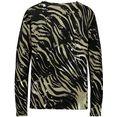 monari trui met ronde hals zwart