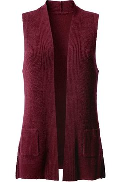 classic inspirationen mouwloos vest rood