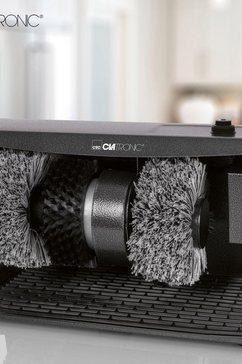 clatronic »spm 3754« schoenpoetsmachine zwart