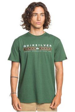 quiksilver t-shirt »jungle jim« groen