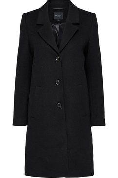 selected femme korte jas »slfsasja« zwart