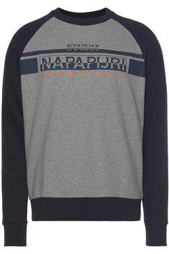 napapijri sweatshirt »brilo c« grijs