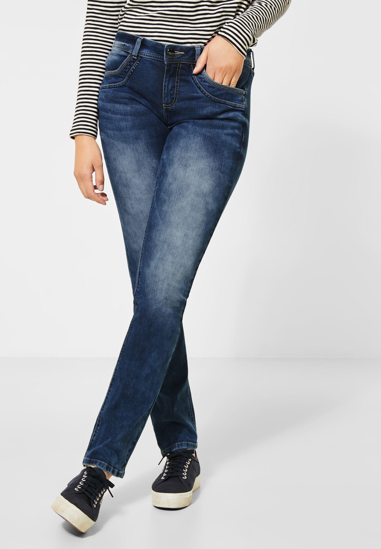 STREET ONE comfort fit jeans goedkoop op otto.nl kopen