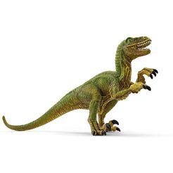 schleich »dinosaurs, flucht auf quad vor velociraptor (41466)« speelgoed-quad multicolor
