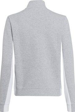lacoste lang sweatshirt grijs