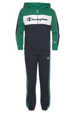 champion joggingpak »hooded full zip suit« blauw