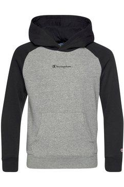 champion hoodie »hooded sweatshirt« grijs