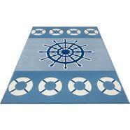 hanse home vloerkleed voor de kinderkamer »on board« blauw