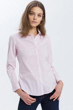 cross jeans overhemdblouse »75230« roze