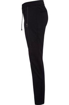 mac jogpants »future-stripe« zwart