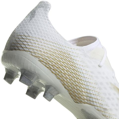adidas X ghosted.2 fg voetbalschoenen wit-goud Dames