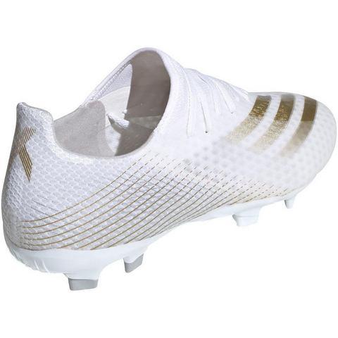 adidas X ghosted.3 fg voetbalschoenen wit-goud Heren