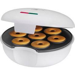 clatronic »dm 3495« donut maker wit