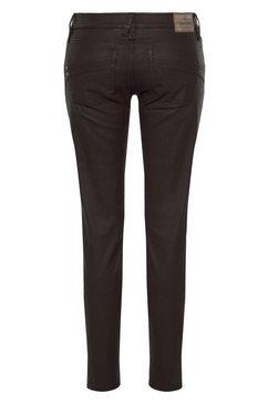 herrlicher slim fit jeans »touch slim« bruin